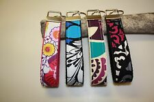 Key Fob Wristlet/Key Chain in Vera Bradley Fabric