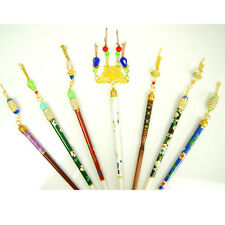 New Diamontic Ladies Womens Occasion Chinese Japanese Oriental Hair Chopsticks