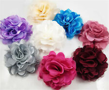 High Quality Flowers Brooch Hair Pins Clips Shoes Accessory Decoration Silk Lace