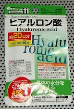 Daiso Hyaluronic acid  Supple Supplement 20days 5 pack $14.98 100 days 5pack