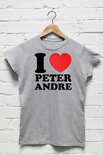 I Love Heart Peter Andre Tshirt Big Night Tour Mysterious Girl T Shirt J1165