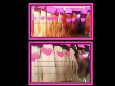 ♥♥EXTRA THICK ♥ CLIP IN HUMAN HAIR EXTENSIONS ♥ 90g ♥180g ♥ 230g ♥ SO CHEAP♥♥