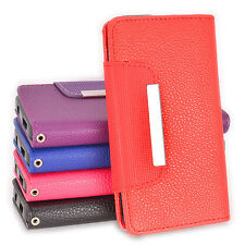 5in1Side ID Wallet PU Leather Case Cover for Samsung Galaxy ACE 3 4G S7272 S7275
