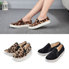 Casual Faux Suede Ballet Flats Slip on Espadrille Loafer Women Shoes