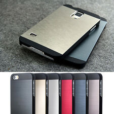 Hybrid Metal Brushed Aluminum Hard Slim Case Cover For Samsung Galaxy S3 S4 S5