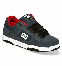 Scarpe uomo casual skate Dc ShoesStag Grey / Red Schuhe chaussures zapatos