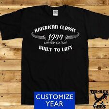 American Classic 1944 T Shirt 70th Birthday Gifts for Grandpa Bday Men's TShirt