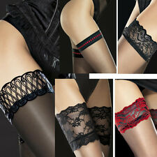 Sexy Sheer Stay Up Stockings Thigh Highs Hosiery Europe Collection S M L