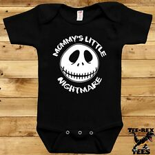 Cute Baby Clothes Halloween Costume Bodysuit Jack Skellington One Piece Romper
