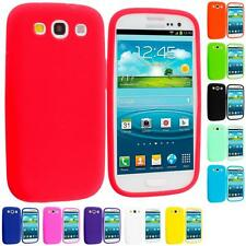 For Samsung Galaxy S III S3 i9300 i747 Silicone Rubber Soft Gel Color Case Cover