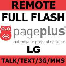 [REMOTE] Full Flash Sprint LG G3 to Page Plus - Talk/Text/3G/MMS