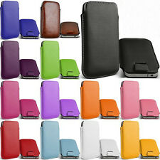 for samsung Galaxy Ace Duos S6802 Leather bag case Pouch Phone Bags Cases