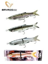 """SAVAGE GEAR 3D GLIDE SWIMMER 205 JOINTED 8"""" BASS STRIPER MUSKY LURE SELECT COLOR"""