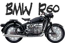 BMW R60 R50 - Retro Vintage Classic Antique 600cc 500cc Motorcycle Bike T Shirt