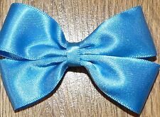 GIRL HAIR BOW SATIN , PARTY XMAS COLLECTION ,NEXT DAY DISPATCH *