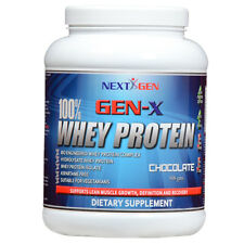 100% Whey Protein Powder - All Flavours - 908 g - From Gen-X Nutrition