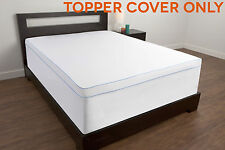 TOPPER COVER for Memory Foam Mattress Twin Full Queen King Size Bed Pad Matress
