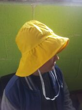 Souwester Hat by Ocean Rainwear, 3 colours, One Size, Fishermans, Polyester/PVC