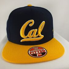 BERKELEY CAL BEARS NCAA ADULT FITTED PRESHAPED CAP ADULT HAT NEW BY ZEPHYR A50