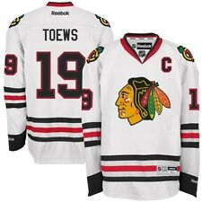 Jonathan Toews # 19 Reebok Chicago Blackhawks Premier Stitched Youth NHL Jersey