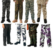 Rothco Kids Camouflage Military BDU Cargo Fatigue Pants