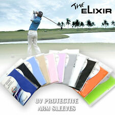 2 Pairs Arm Sleeves Cover Sun Protection Cooling Sleeve US Ship
