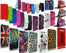 FOR ALCATEL ONE TOUCH POP C1 NEW SLIM LEATHER FLIP WALLET BOOK POUCH CASE COVER