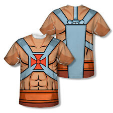 Masters Of The Universe He Man Costumes Adult All Over Print T-Shirt