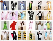 Mens Ladies Onesie Animal Kigurumi Pajamas Sleepwear Hoodies Fancy Dress Costume