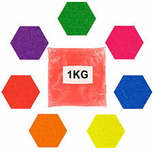 "1KG .008"" ULTRA FINE NEON COLOURED GLITTERS"