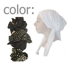 One Size women Head Covering Scarf Hair Snood Bandana Jewish Girl Spot Tichel
