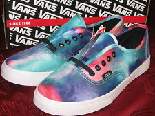 VANS Authentic Lo Pro GALAXY NEBULA Skate SHOES Womens 6 7 8, 6.5, 8.5, 9.5 NEW