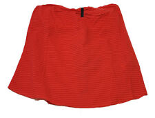 GENUINE GIRLS/WOMENS ROXY WASHED RED SKIRT (XMWTT182) (R2)
