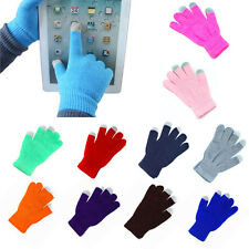 Hot Soft Winter Men Women Touch Screen Gloves Texting Capacitive Smartphone Knit