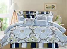 Lacey Medallion 10 Piece Reversible Printed Ensemble Comforter Set
