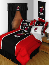 NBA New Miami Heat Comforter & Sheet Set - Basketball