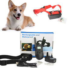 Anti Stop Barking Dog Training Collar Electronic Shock Bark Control AUTO/Remote