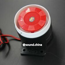 Wired Mini Siren for Home Security Alarm System 110dB 6V-12V 3.5mm 5.5mm Plug