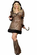 Plus Size Cheetah Cat Costume