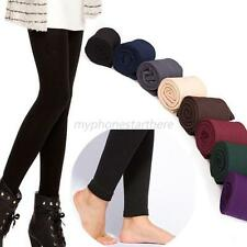 Women Skinny Solid Color Jeggings Stretchy Sexy Pants Soft Leggings MYS
