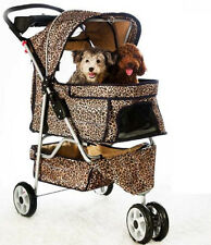 NEW Large 3 Wheels Pet Dog Cat Stroller 18 color choices FREE RAIN COVER581