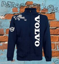 VOLVO GIACCHINO sweat jacket logo vertical tuning truck tir camion holland style