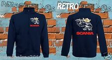 SCANIA GIACCHINO sweat jacket logo tuning truck tir camion sport holland style