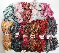 Louisa Harding SARI RIBBON Yarn / Craft Gift wrap - 100g Hanks