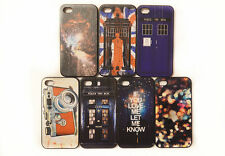 TARDIS Doctor Who Fashion Painted Pattern Back Hard Case Cover For iPhone 4 4S