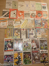 Darlington  Home Programmes  1960's onwards.  Select from list