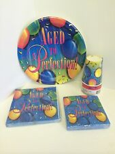 Aged To Perfection Theme Party Items--Napkins, Plates, and Cups--Variety