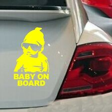 Car Sticker Vinyl Decal Waterproof Reflective Wall Stickers New Baby on Board