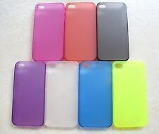 0.4MM Thickness Plastic Back Case  For Apple iphone 4G /4GS (7 Colors )
