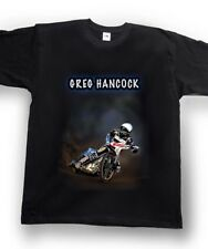 Airbrushed Speedway T-Shirt Speedway Rider Greg Hancock sizes Kids to XXXL